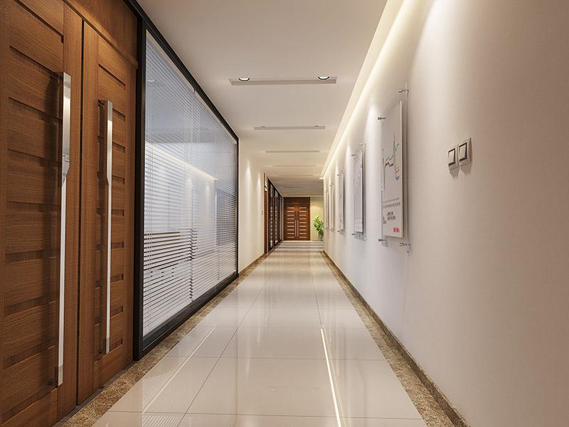济南办公室装修为您打造合理的走廊