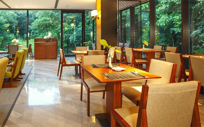 酒店餐饮装修中西餐厅室内装修风格色彩搭配