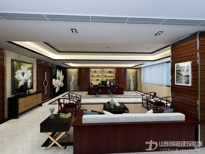 济南专业办公室装修设计找缔嘉装饰