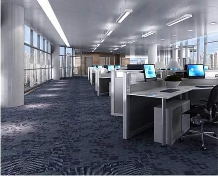 办公空间设计要求用地毯的好处