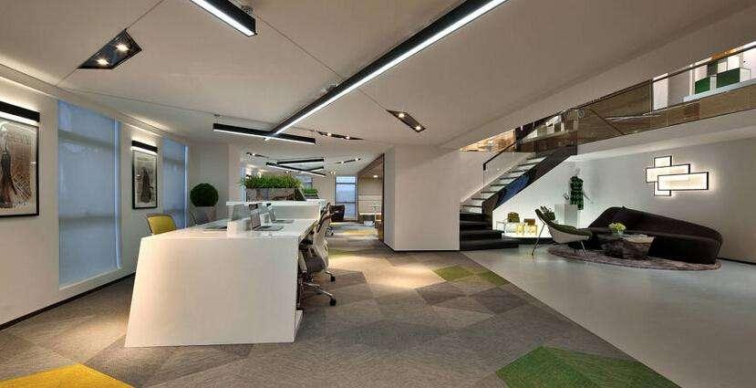 现代范的济南办公室装修个性品位彰显