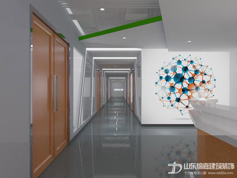 2018年隔断墙让济南办公室装修的设计技术更加灵动