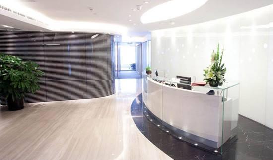 济南办公室装修前台设计要留意三个重点