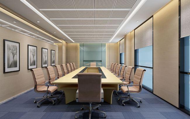 解读济南办公室装修时会议室设计的几个要点