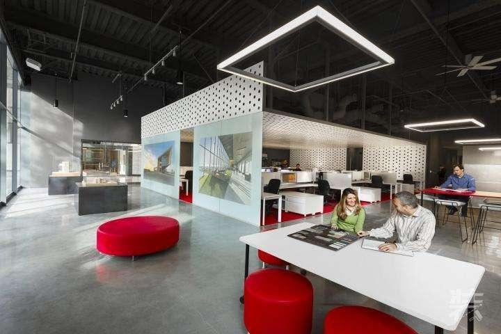 开放式办公室设计的天花板装修要注意哪些