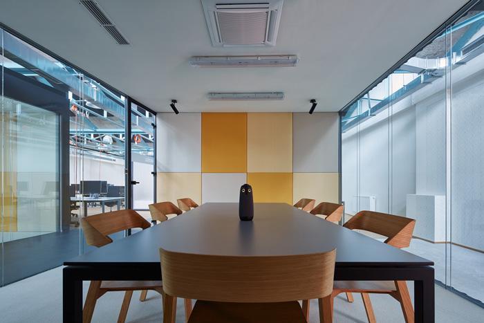 好的济南办公室装修色彩设计能提升员工工作效率