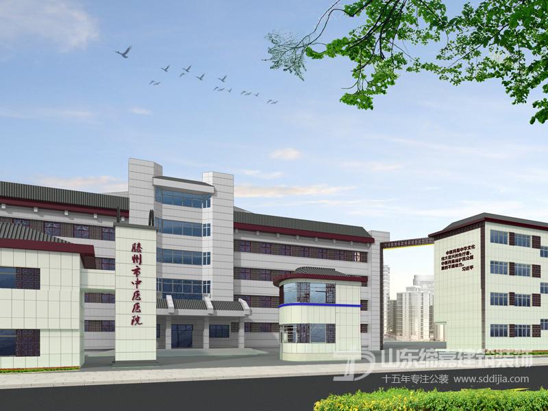 中医医院建筑装饰案例效果图展示